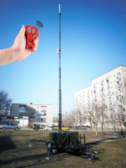 Communication station mobile hook-on SSPP-15.