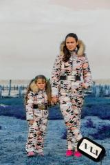 "Romper exaggerated warm suit ""Kids"