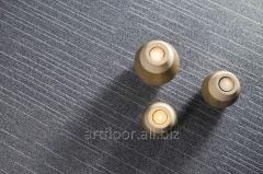 Quartz-vinyl tile