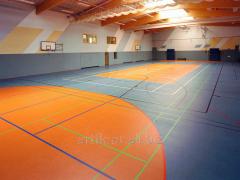 Sports linoleum