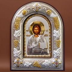 Icon of an arch form Under glass Silver 925 °