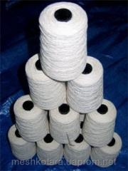 Meshkozashivochny threads White polyester 12/4,