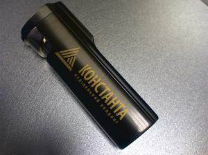 Lighters souvenir with drawing a logo the laser