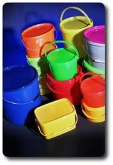 Capacities polypropylene from 0,25 to 33 liters