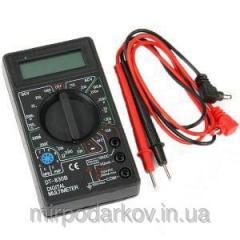 Цифровой мультиметр тестер DT-830В 366