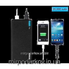 Portable Power Bank 20000 mAh charger