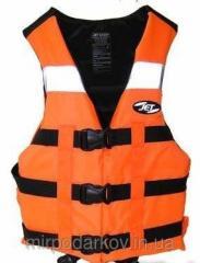Жилет спасательный AQUA (для спорта, рыбалки и