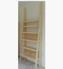 Шкаф-этажерка деревянный