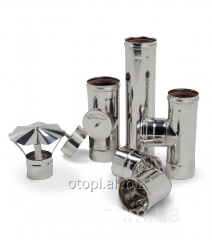 Flues from stainless steel