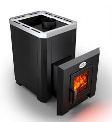 The wood furnace for a bath Novaslav Klassik PKS - 02 (A door with heat-resistant glass)