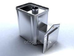 Дровяная печь  для бани Новаслав Классик ПКС - 02 (Кожух из нержавеющей стали)