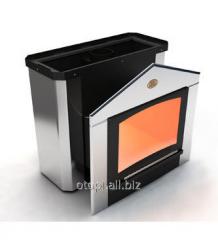 Печь каменка для бани  «Горизонталь-ПКС - 02 Кожух из нержавеющей стали» Профи
