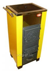 Одноконтурный котел на твердом топливе (с плитой) КОТВ-20П VIP