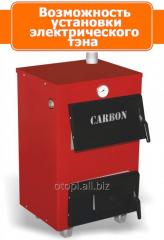 Котел водяной на твердом топливе Carbon КСТО-18 New