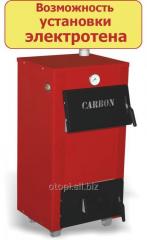 Водяной твердотопливный котел Carbon КСТО-18 В (Двухконтурный)