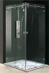 Shower cabin glass