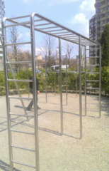 The equipment for sports grounds from stainless