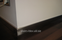 Plinth from stainless steel