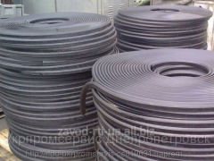 Cords rubber various diameters and sections, a