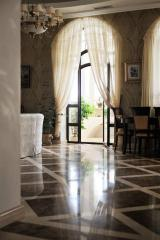 Floors from marble