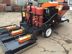 MACHINE FOR REPAIR ASPHALT MP-3.BS-100.RA-500