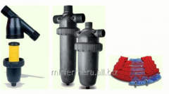 Disk filters for watering