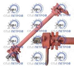 Shaft leading PRT 10, 7 of a navozorazbrasyvatel,