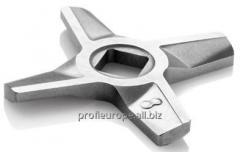 Нож двухсторонний мясорубки Zelmer №5, 8  86.1009