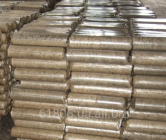 Biobriquettes are fuel. Briquettes wood, fuel from
