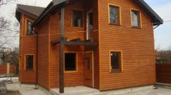 The energy saving, warm Frame house, for