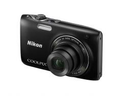 Фотоаппарат NIKON Coolpix S3100 Black ⁄ Silve