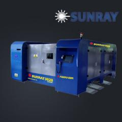 Machine of laser cutting of sheet SUNRAY metal