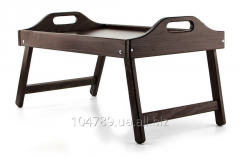 Little table for a breakfast of UFT eco-wood