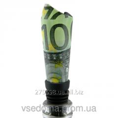 Оригинальная пробка для бутылки 100 евро