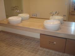 Столешница из мрамора в ванной в Украине, Купить,