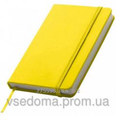 Блокнот на резинке Lubeck Желтый