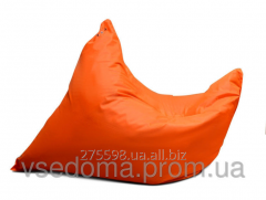 Orange chair a bag a pillow of 120*140 cm from