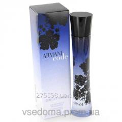 Armani Code women edp 75 ml.