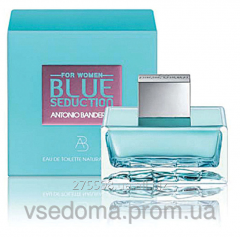 Blue Seduction Antonio Banderas woman edt 100 ml.