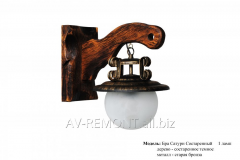 "Sconce wooden ""Saturn which is made"