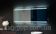 Mirror with LED illumination of the CAREMA series