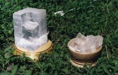 Соляная лампа их кристалла