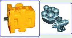 Spare parts to NKR-100, SBU-100 drilling rigs