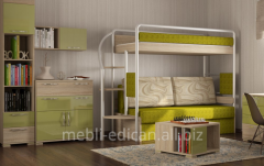 Bed nursery two-level