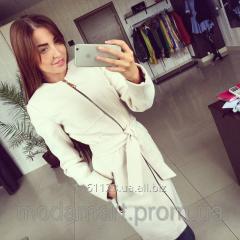 Женское модное демисезонное кашемировое пальто
