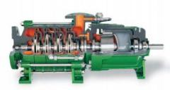 Chemical multistage pumps Dickow (Germany)
