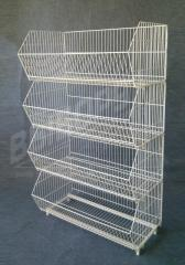 The rack is trade wire. The rack is basket.