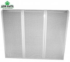 Decorative lattice on the pig-iron battery 9 a