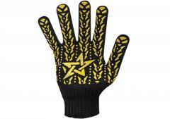 Перчатки звезда 1й сорт черные