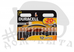 DURACELL R-6 (AA) 1.5V batteries